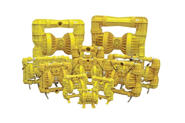 Pumps 2000 Yellow Seriess