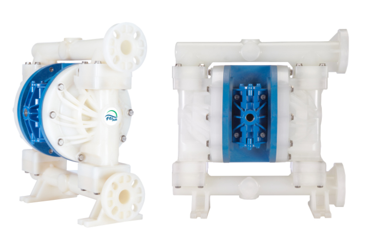 """1"""":25 mm Non-Metallic Air Operated Double Diaphragm Pump"""
