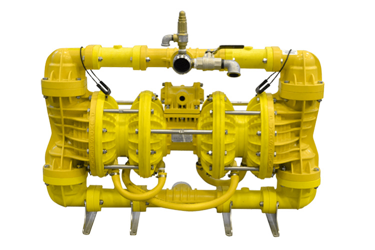"""DS50BY – 2"""" / 50mm Double Stage Ball Valve Yellow Series"""