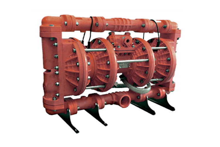 """DS50SR – 2"""" / 50mm Double Stage Slurry Valve Red Series"""