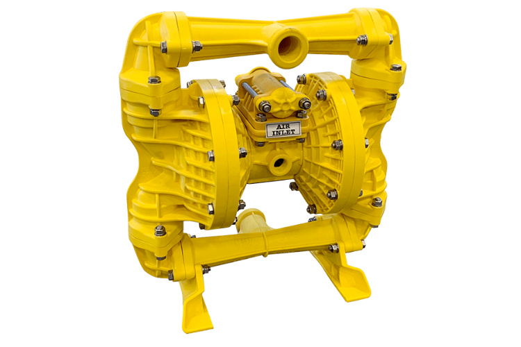 """P25BY – 1"""" / 25mm Ball Valve Yellow Series"""