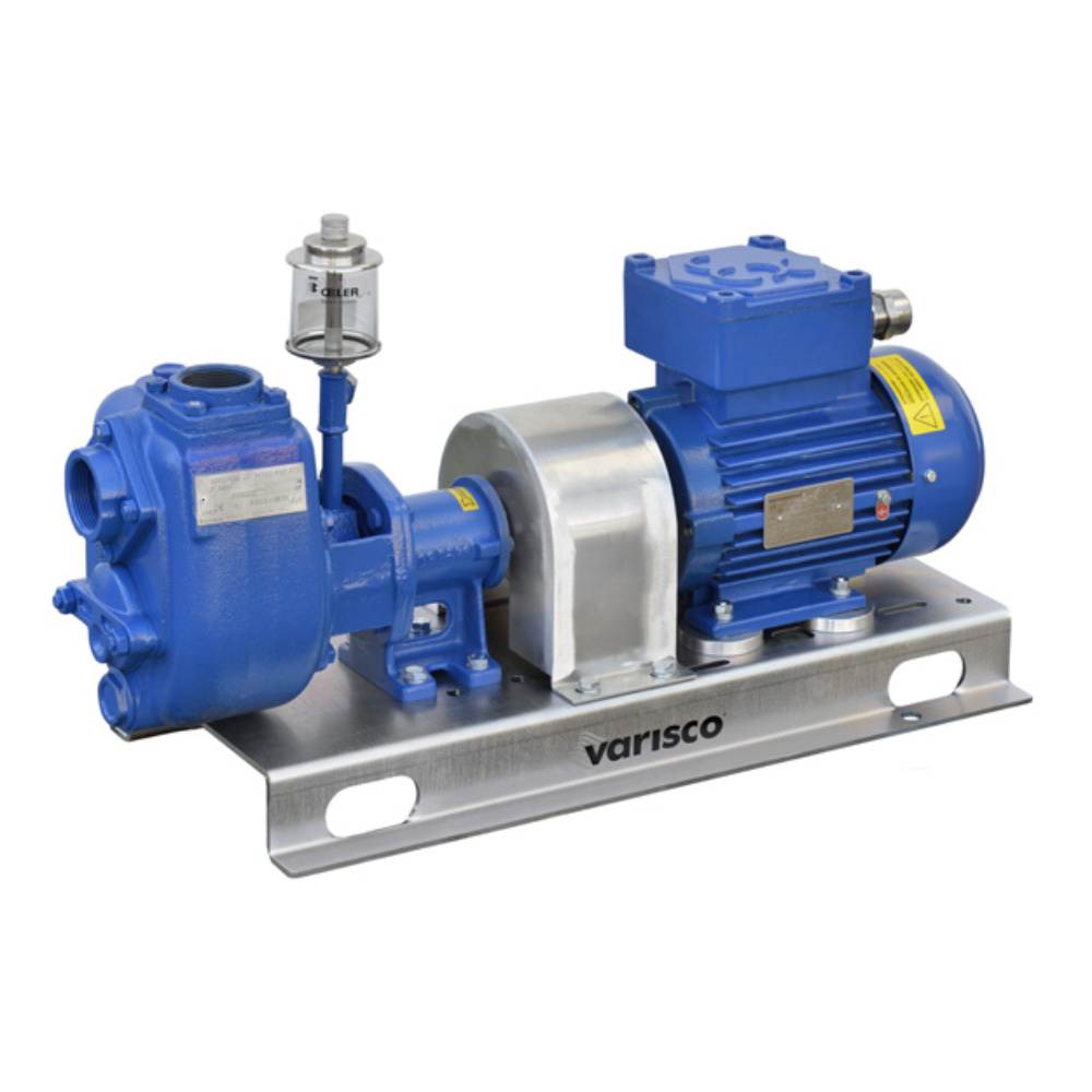 Self-priming centrifugal pumps
